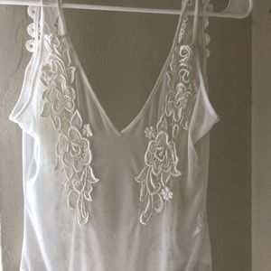 Nasty Gal sheer lace bodysuit